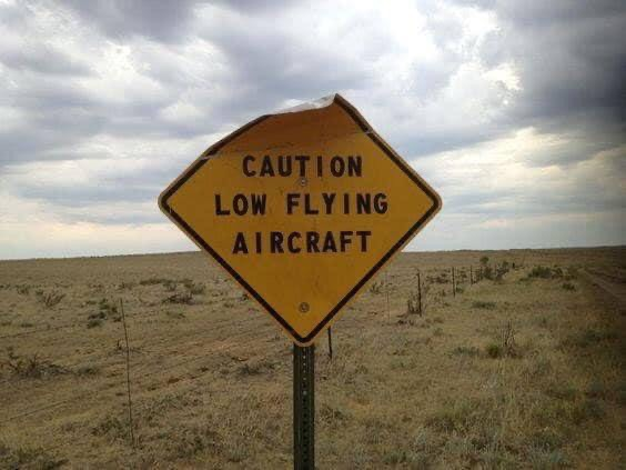 low-flying